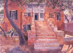 The House at Potisma - Lucy Willis Prints - Easyart.com