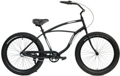 FREE Ship 48 States+Save Up to 60% Off Fat Bike Cruisers Mango LongBoard FT 1 Speed Geared Cruisers from bikesdirect.com