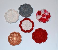 I have made some new Tudor Rose Pins