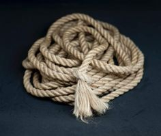 Goliath Rope.  Our own speciality. For the rigger with all the rope. This rope is great for those unique moments, giving a jaw dropping look from the submissive when you approach them this! We use it for crotch rope, meaning it covers a large area of the groin... for you know.. extra feelings :-)  The rope is made as standard from our Chemical and JBO free yarn, so its totally safe to be touching ya pink parts ;-)…