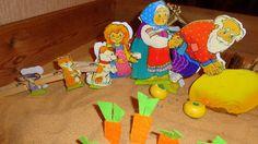"""Детский психолог Алена Решетова: """"Репка"""" - развивающее занятие для детей раннего и младшего дошкольного возраста"""