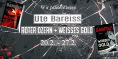 """Elchi's World of Books: [Blogtour - Station #3] """"Roter Ozean + Weisses Gold"""" - Ute Bareiss"""