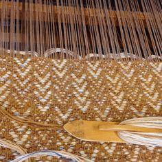 Textiles, Fibre Art, Weaving Patterns, Amy, Fiber, Fabrics, Touch, Decorating, Gold