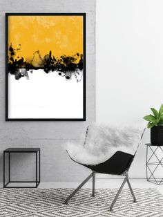 Abstract Art Print Mustard Yellow Print Digital Painting Watercolour Art Scandinavian Home Decor 5070 cm Print Art Print Avenue Abstract Art ABSTRACT Art Avenue decor Digital Home Mustard Painting Print Scandinavian Watercolour Yellow Abstract Canvas, Canvas Art, Hand Painted Canvas, Blue Abstract, Painting Prints, Art Prints, Painting Art, Painting Inspiration, Watercolor Art