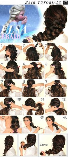 Best Summer Hairstyle Tutorials for Girls with Long Hair