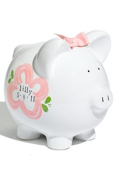 Someday Inc. Personalized Piggy Bank available at #Nordstrom