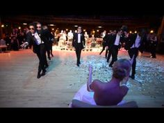 Pro Dancer And His Groomsmen Bring Down The House With Killer Routine - best wedding dance ever!