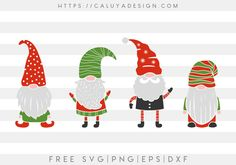 Free Gnomes SVG, PNG, EPS & DXF by Caluya Design. Compatible with Cameo Silhouette, Cricut and other major cutting machines! Perfect for your DIY projects, Giveaway and personalized gift. Perfect for Planner customization! Reindeer Face, Christmas Typography, Christmas Gnome, Christmas Vinyl, Christmas Ornaments, Christmas Crafts, Cricut Tutorials, Cricut Ideas, Craft Box