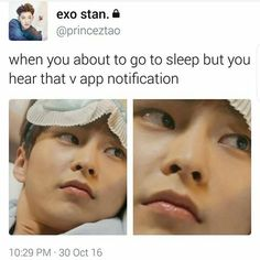 I wish, the V app hasn't been giving me my notifications, I don't know what the freak is going on...