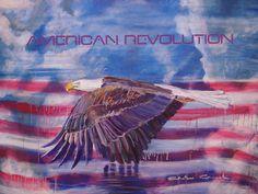 Eagle Prophetic Art, American Revolution, Worship, Eagle, Painting, Painting Art, Paintings, Painted Canvas, Drawings