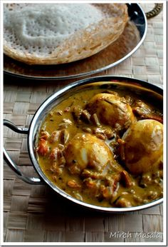 Indian masala omelette pinterest breakfast dishes indian style kerala style egg curry with coconut milk mirch masala forumfinder Image collections