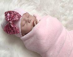 FUNNYSHIRTS.ORG Baby Girl Clara Flower Hat Infant Baby Hat