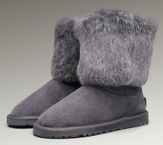 black uggs with grey fur black friday