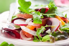 This is one lively and refreshing salad any time of the year!
