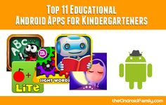 Top 11 Educational Android Apps for Kindergarteners