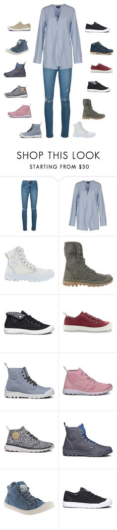 """""""Thankful for my husband who feeds my Palladium boot obsession"""" by stacy-just-stacy ❤ liked on Polyvore featuring Nobody Denim, Theory and Palladium"""