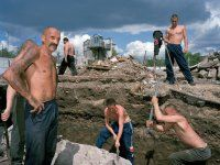 Carl De Keyzer: Zona (2003) - Imagine my surprise when I discovered in 2000 that most of the former gulags where still in function, only now as ordinary prisons.