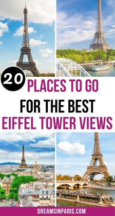 Looking for where to find the best views of the Eiffel Tower? This post will show you all the places plus how to get there.   best Eiffel tower views  best views of the Eiffel tower  best Eiffel tower photo spots  best view of the Eiffel tower  Eiffel Tower best view  Best places to view the Eiffel Tower  Best hotels with Eiffel Tower view  Best Eiffel Tower Views  Paris Eiffel Tower views  stunning views of the Eiffel tower in Paris  top views of Eiffel tower #bestplacestovisitinparis Hidden Places, Secret Places, Paris Hidden Gems, Cool Places To Visit, Places To Go, Paris Bucket List, The Iron Lady, Day Trip From Paris, Paris Eiffel Tower