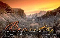 the Creator's sanctuary