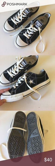 Converse One Star Super cute. Only worn indoors Converse Shoes Sneakers