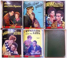 Raccolta Cineromanzi con Gino Cervi, Alba Arnova, Franco Fabrizi, L. Tajoli 1954