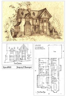 House333 Front Elevation and Plan by Built4ever