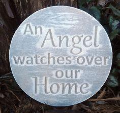 plastic-religious-plaque-mold-garden-ornament-plaque-034-An-Angel-Watches-034