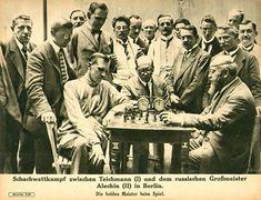 Alekhine vs Teichmann (Berlin-1921)