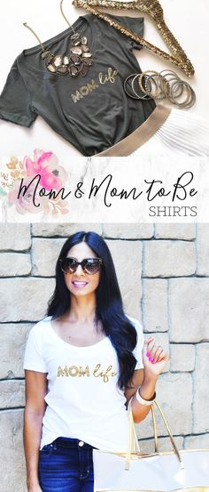 Items similar to Mom Life Shirt Mom Shirt Mommy To Be New Mom Gift Mommy Shirt Mom Life Tee on Etsy Bad Mom, Unique Gifts For Women, Gifts For New Moms, Mom Style, Mom Shirts, New Baby Products, Dress Up, Trending Outfits, Tees