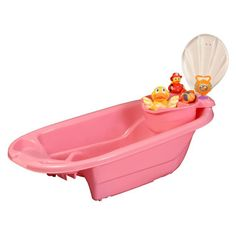 Mom Innovations Mom Innovations The Potty Patty 2 in 1 Bath Tub with Toy Organizer in Pink N0089,    #Mom_Innovations_N0089