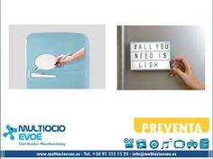 PIZARRA - IMÁN - BURBUJA A6 MAGNET SPEECH BUBBLE CON LUZ EAN: 5060493231805 Código: 20559  Material: PVC. Presentación: caja. Medidas: 11x15x2cm. Necesita 3 pilas AAA, no incluidas. PIZARRA - IMÁN - MESSAGE BOARD CON LUZ EAN: 5060493233014 Código: 20560  Material: PVC. Presentación: caja. Medidas: 10x14x4cm. Necesita 4 pilas AA, no incluidas.