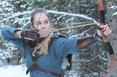 """""""Keep practicing,"""" he told her. """"Until I get it right?"""" she said. But he corrected her. """"No. Until you don't get it wrong.""""   John Flanagan,The Royal Ranger (Ranger's Apprentice, #12)  #archery #archer #marksman #bowman #bowwoman #vikingarcher #WinterViking"""
