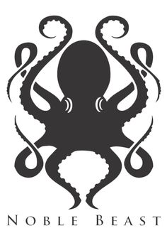 Kraken: Noble Beast More. Squid Tattoo, Octopus Tattoos, Octopus Squid, Octopus Art, Octopus Images, Kraken Art, Octopus Design, Sea Monsters, Cthulhu