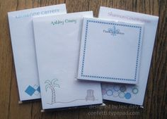miscellaneous stationery gift sets