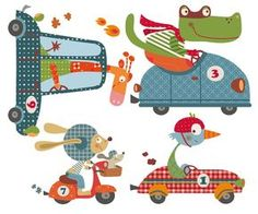 vinilos infantiles decohappy - - HAPPY CARS