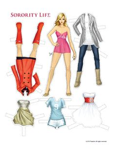 Sorority Life Paper Dolls! « Sorority Life Blog
