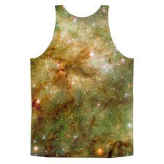 Tarantula Nebula Close-Up || Yellow || Classic fit tank top (unisex)