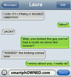 Autocorrect Fails and Funny Text Messages - SmartphOWNED Funny Sms, Funny Texts Jokes, Funny Texts Crush, Text Jokes, Funny Text Fails, Epic Texts, Funny Text Messages, Drunk Texts, Autocorrect Funny
