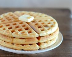 You can whip up a batch of these homemade waffles in about 5 minutes! Peanut Butter Waffles, Peanut Butter Breakfast, Waffle Iron Recipes, Homemade Waffles, Recipe Mix, Cooking Recipes, Healthy Recipes, Breakfast Recipes, Brunch