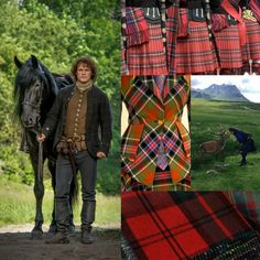 Beautiful Pictures with a English, Victorian, Scottish and Irish twist. Jamie Fraser Outlander tartan scotland https://www.ouwbollig.eu https://www.facebook.com/ouwbollig.eu/?
