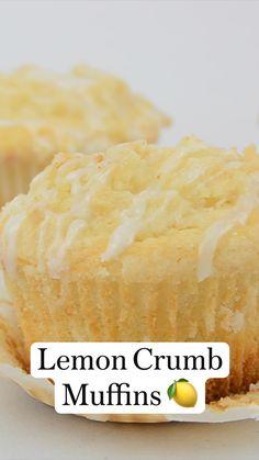 Lemon Dessert Recipes, Fun Baking Recipes, Lemon Recipes, Delicious Desserts, Snack Recipes, Healthy Lemon Cake Recipe, Cooking Recipes, Yummy Food, Tasty