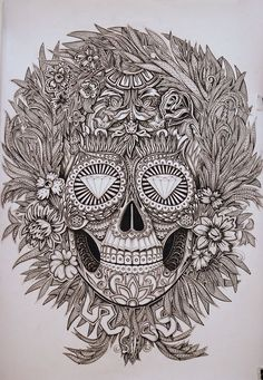 Skull & diamonds