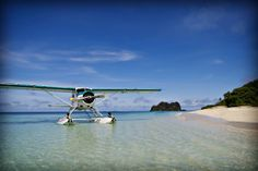 Vomo Fijian Resort, Arrival on Pacific Island Seaplanes.