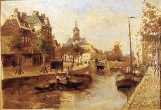 0785, Zieken met zicht op Nieuwe Kerk, 's Gravenhage