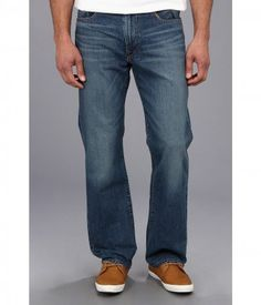 Lucky Brand - 181 Relaxed Straight in Delwood - R (Delwood) Men's Jeans