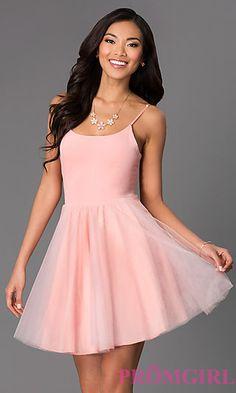 Pink Plain Off-shoulder Simple Mini Dress (405 MYR) ❤ liked on ...