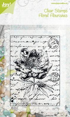 6410/0043 Noor! Design Clear Stamp Roos