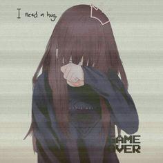 Drawing Body Anime How - RetroModa Anime Girl Crying, Sad Anime Girl, Anime Art Girl, Anime Girls, Manga Kawaii, Kawaii Anime Girl, Manga Anime, Manga Eyes, Art Anime Fille