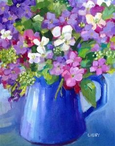 "Daily+Paintworks+-+""The+Gift""+-+Original+Fine+Art+for+Sale+-+©+Libby+Anderson"