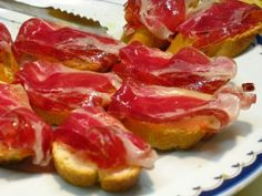 Totally craving a jamon montadito right now...